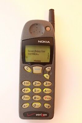 Nokia 5185iVB NSD-1AW Digital Cell Phone Untested ANTIQUE VINTAGE  COLLECTIBLE