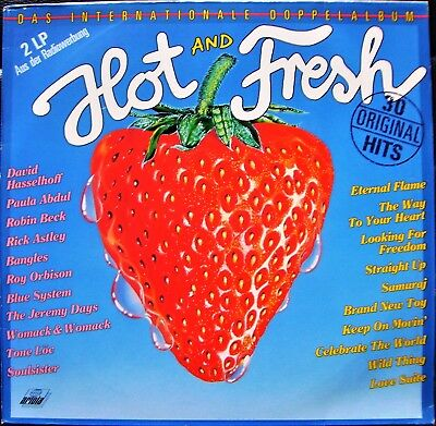VARIOUS ARTISTS - Hot And Fresh ; Pop / Rock ; 2LP