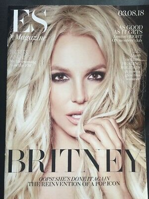 BRITNEY SPEARS  ES Magazine  03/08/18  MINT Cheapest on Ebay SEE PICS