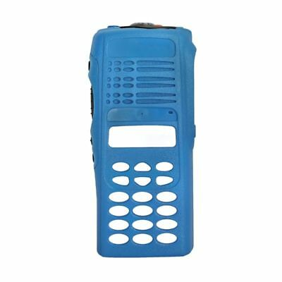 Blue Replacement Full-keypad Case Housing For Motorola HT1250 Handheld Radios