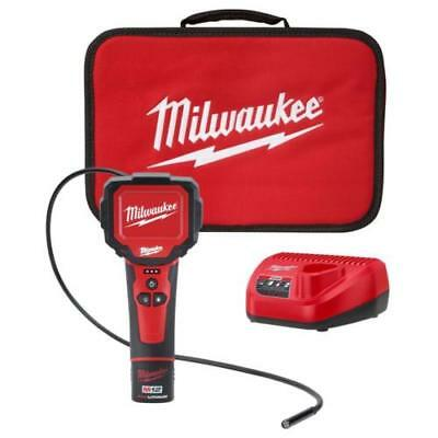 Milwaukee 2313-21 M12 M-SPECTOR 360 Rotating Inspection Scope Kit W/ bag **NEW**
