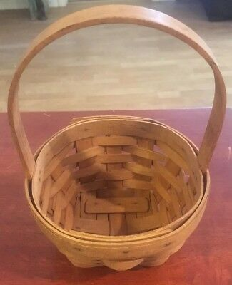 Longaberger Basket May Series 1993 Lily of the Valley 6 x 4
