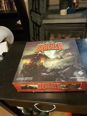 Fury Of Dracula 2nd Edition, Complete and perfect condition and opened