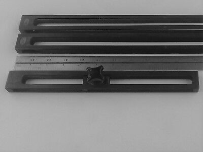 """Mauser Gage Block Holder 11"""" Overall"""