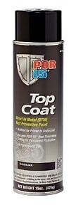 POR-15 Top Coat Chassis Black 14 oz Aerosol Spray Can 45918  direct-to-metal