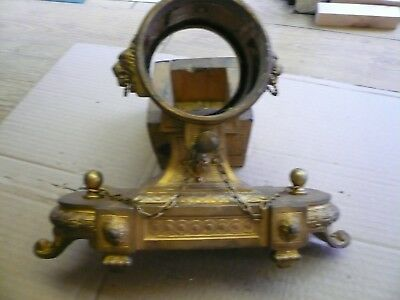 french  mantle clock case