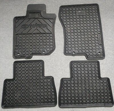 Toyota 4Runner 2010-2017 4-Pc Oem Factory Rubber All Weather Floor M