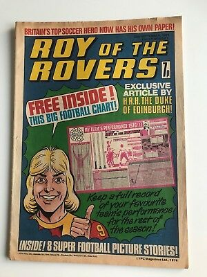 ROY OF THE ROVERS Comic - 25th September 1976      FIRST ISSUE