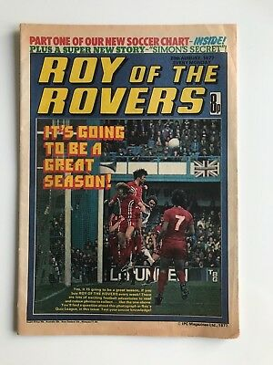 ROY OF THE ROVERS Comic - 20th August 1977