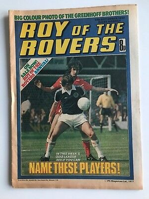 ROY OF THE ROVERS Comic - 17th September 1977