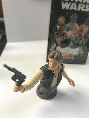 Star Wars Gentle Giant Han Solo Bust-Up (Series 6 - Mos Eisley Cantina)