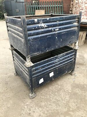 Scrap Metal Stillages , Steel Storage Boxes , Steel Container , Metal Boxes