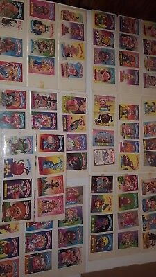 Lot of 156 Garbage Pail Kids Trading Cards