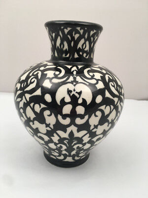 Antique Bauhaus Period German Art Deco Vase By Walther Stock For