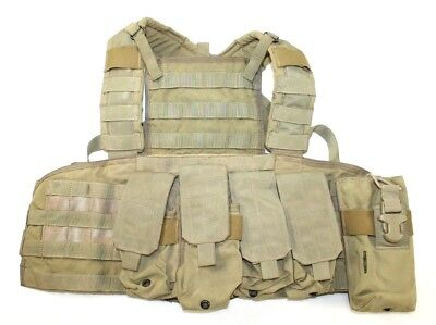 Eagle Industries SFLCS 1000D Khaki Tan RRV Rhodesian Recon Vest Chest Rig NSW