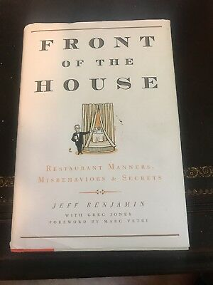 Front of the House: Restaurant Manners, Misbehaviors & Secrets Free Shipping