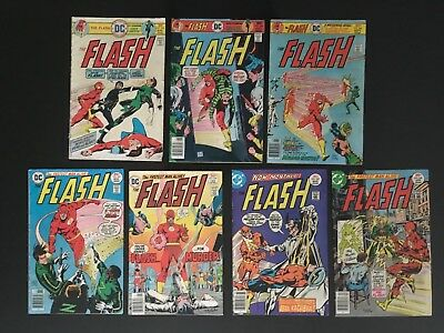The Flash - Dc Bronze Age - Lot Of 47 Issues - Original Owner, Vg Condition