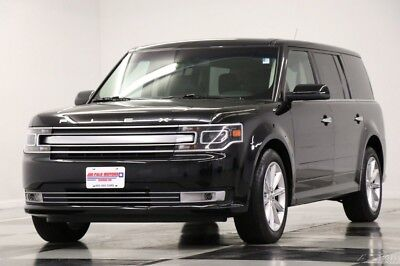Ford Flex Limited AWD  Heated Leather Navigation  Camera 2018 Limited AWD  Heated Leather Navigation  Camera Used 3.5L V6 24V Automatic