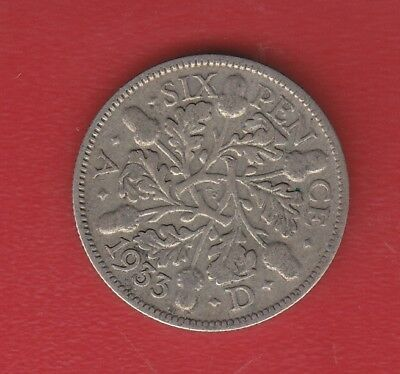 Great Britain 6 Pence 1933 Silver