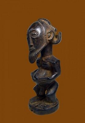 A Fine and Handsome Antique Hemba Male sculpture , African Tribal Art