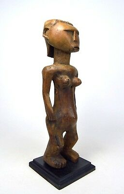 A Weathered Old Kwere Female ancestor sculpture