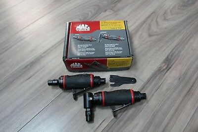"Mac Tools AG325-2PK 1/4"" Collet Mini Die Grinder +  90° Angle Air Die Grinder"