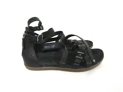 5ab0333b7c1 UGG SANDALS SECHURA black leather 6 gladiator Women's Shoes - $55.00 ...