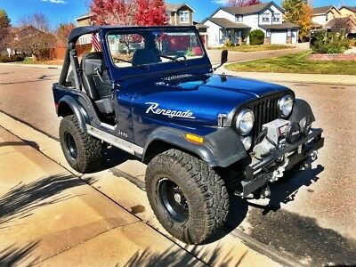 1978 Jeep CJ Renegade 1978 Jeep CJ5 Renegade! Loaded with upgrades!
