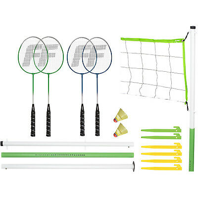 Franklin Sports Outdoor Shuttlecocks Play Intermediate Badminton Set Included