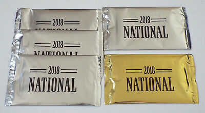 2018 Panini National Silver & Gold VIP Party Pack Lot LOADED SSP Free Shipping