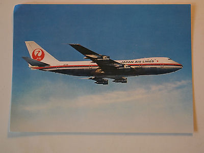 CPA Boeing 747 Jet Courier Japan Air Lines
