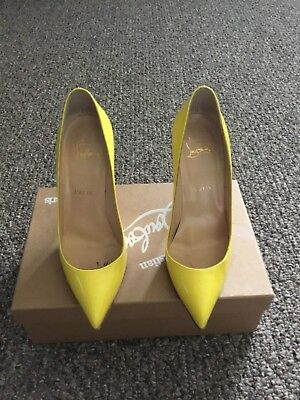 602ecb471bf0 NIB Christian Louboutin Pigalle Follies 100 Pink Rosa Suede Pump Heel Shoe  37.5.  466.20 Buy It Now 24d 13h. See Details. Christian Louboutin