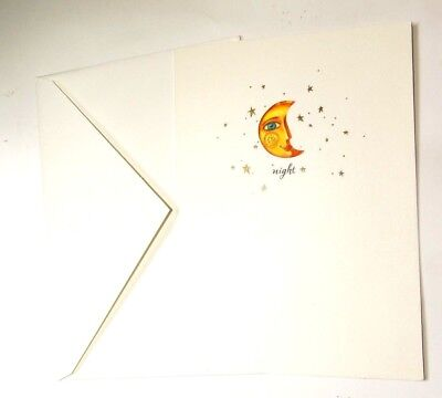 Moon and Sun Night and Day You are the One Greeting Card with Envelope NEW
