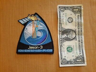 Jason-3 NOAA EUMETSAT NASA JPL CNES Patch