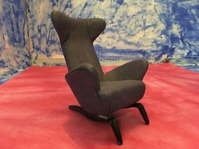 Take a Seat Raine Collection Slope Wingback Purple Chair C 1944 #24023