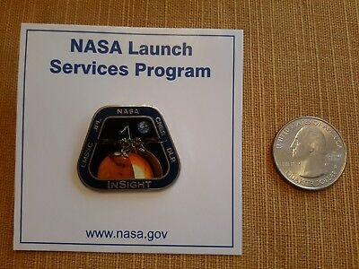 Insight LMSSC JPL NASA CNES DLR Pin