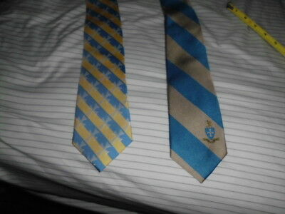 Sigma Chi Fraternity Ties, Two (2), Great width