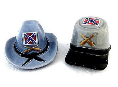 Love of Money Confederate Hat Salt and Paper Shakers