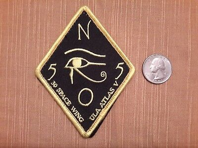 "NRO 55 30TH Space Wing ULA Atlas V ""Ra"" patch"