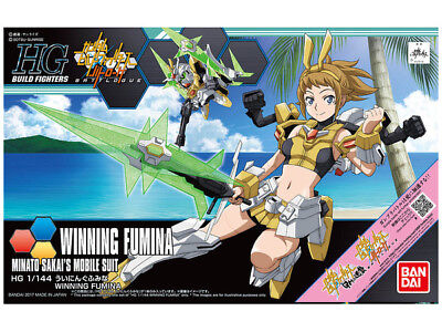 1/144 HGBF Winning Fumina - Bandai Model Kit - Neuware