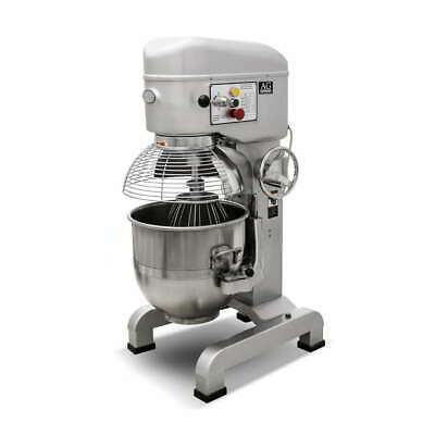 Brand New Commercial Planetary 40L Mixer-  13.5 KG  Dough Capacity - 2100Watts