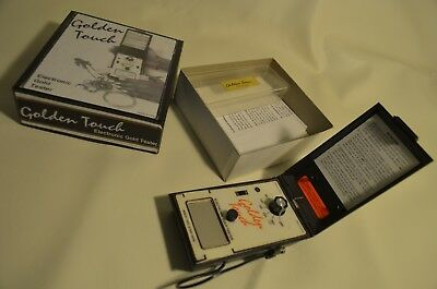 Golden Touch Electronic gold tester with test strips