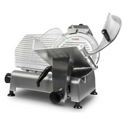 SEMI-AUTOMATIC COMMERCIAL MEAT SLICER 30CM BLADE THICKNESS ADJUSTMENT 0 - 15mm