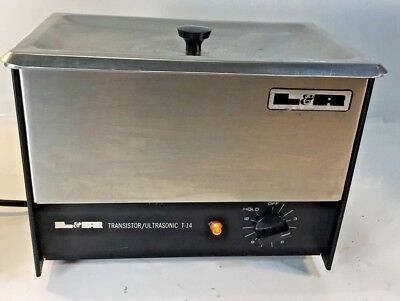 L&r  Ultrasonic  Parts Cleaner - Model  T-14 Working!