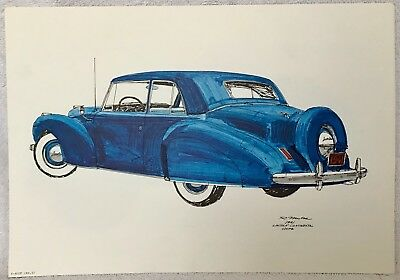 Factory Photo Ref. #53304 1941 Lincoln Continental Coupe
