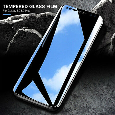 HD 5D Curved Full Tempered Glass Screen Protector Film For Samsung Galaxy S8 S9