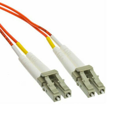 LC to LC 62.5/125 Multimode 2.0mm Fibre Optic Patch Lead Cable 3m