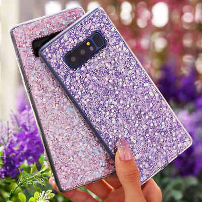 Deluxe Bling Glitter Soft TPU Case Skin Cover For Samsung Galaxy S8 /Note 8 /A5