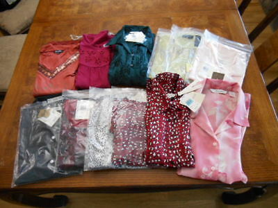 12 pc Womens Wholesale Lot Tops Shirts NWT Retails $500