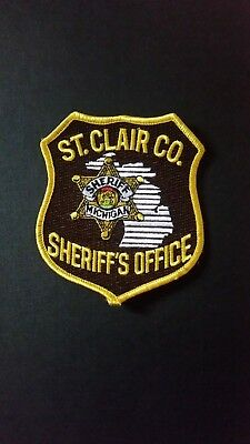 St Clair County Michigan Sheriff Department Shoulder Patch
